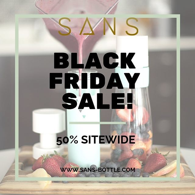 Our best sale of the year!! 50% off site-wide! #blackfriday