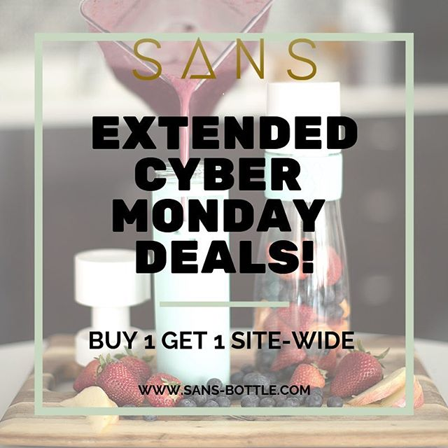 #cybermonday deals have been extended! Buy 1 get 1 free site-wide!