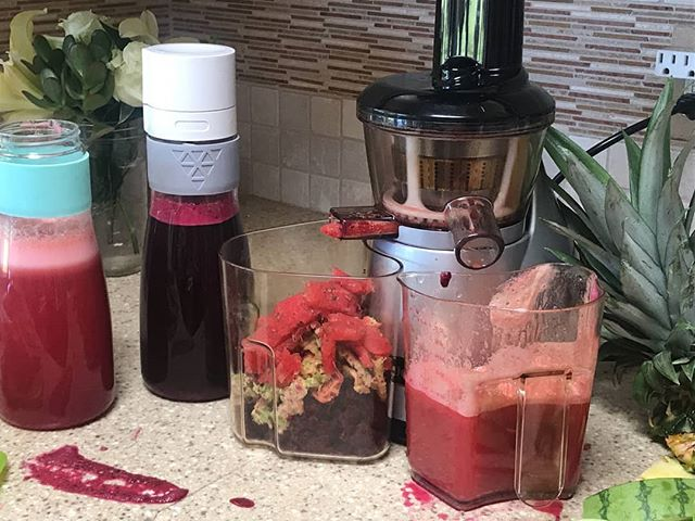 Save time, make juice a couple of days at a time