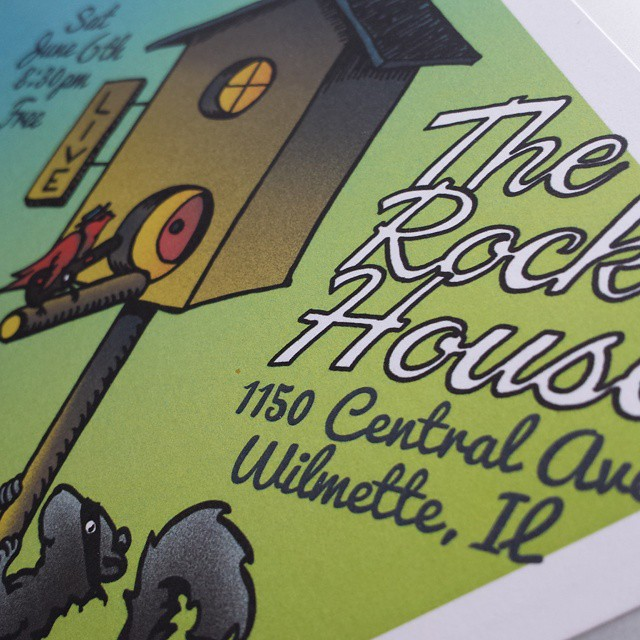 Look out Wilmette, we're coming back to The Rock House three weeks from today! #thesweetmaries #therockhouse #banditjack #treehouse #gigposter #ceolwind