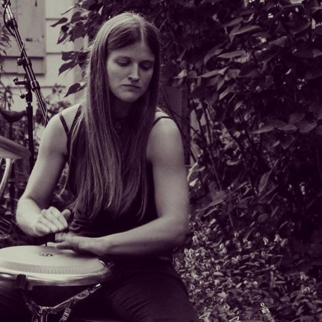 Latest bio updated on our website features the woman who binds our rhythms together with her righteous beats and percussive soul, Meg Thomas. Read more: http://bit.ly/1ACTOCm #thesweetmaries #megthomas #drummer #percussion #musician_bio