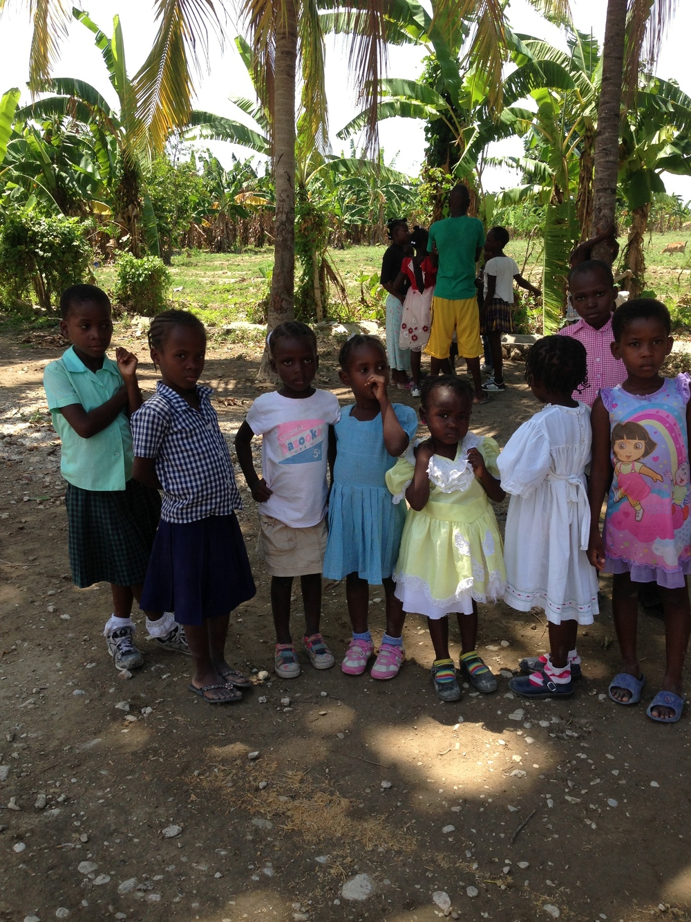 clinic in haiti: