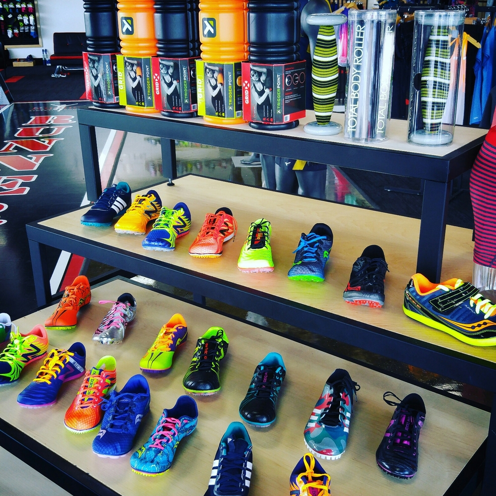 Track & Field Spikes for every distance.