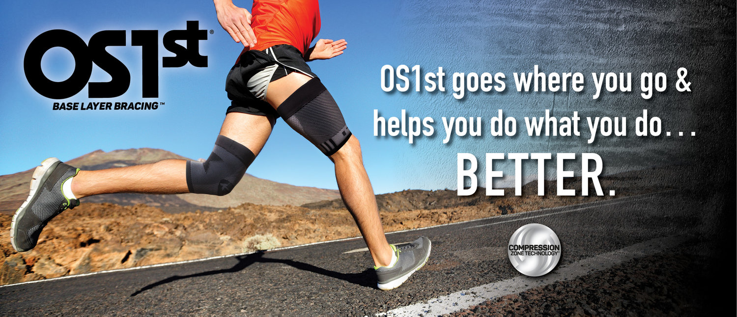 OS1st® with Compression Zone Technology®: An Evolution in Bracing — Runners  Athletic Co