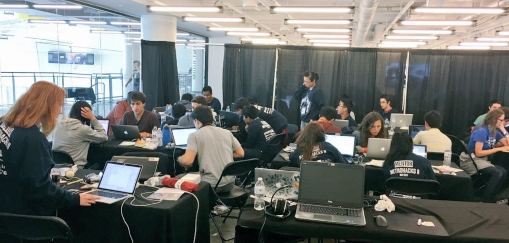 Over 250+ teens participated in MetroHack's 2nd Annual Hackathon in Boston