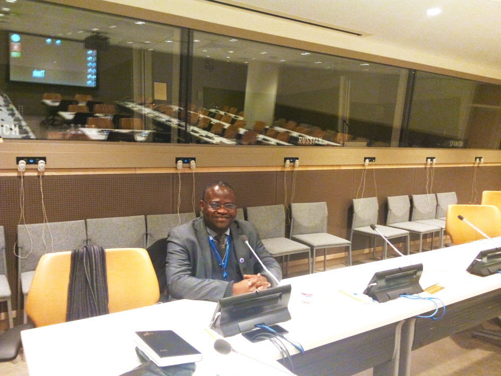 Father Alain During CSocD53 - February 2015