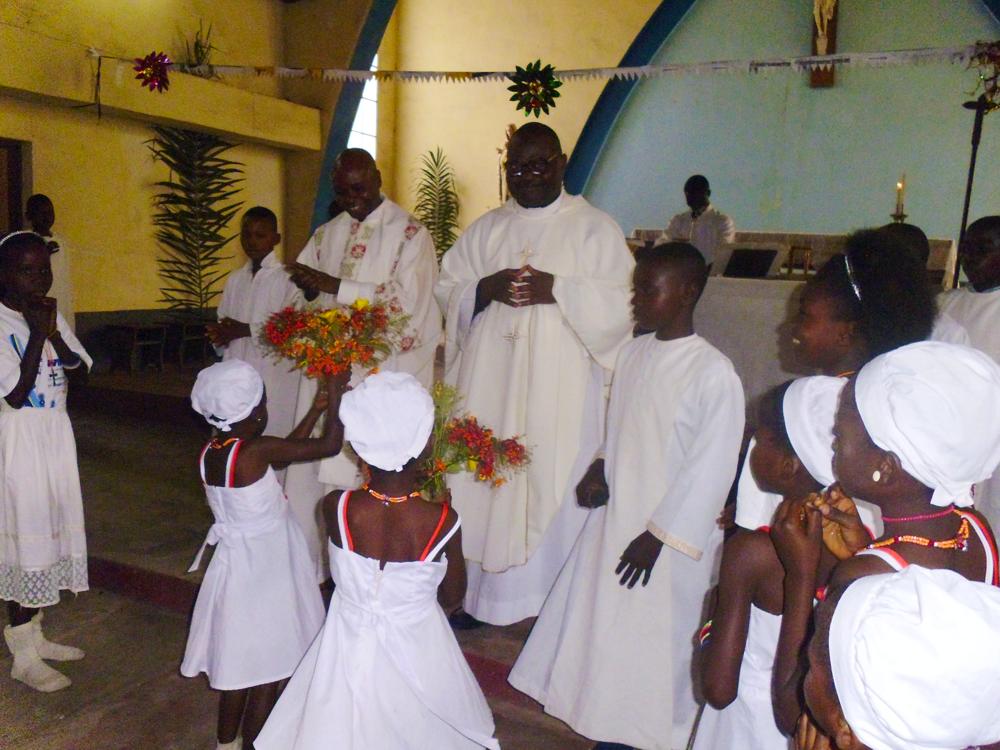 Visite du père Alain en RDC - Juillet 2016