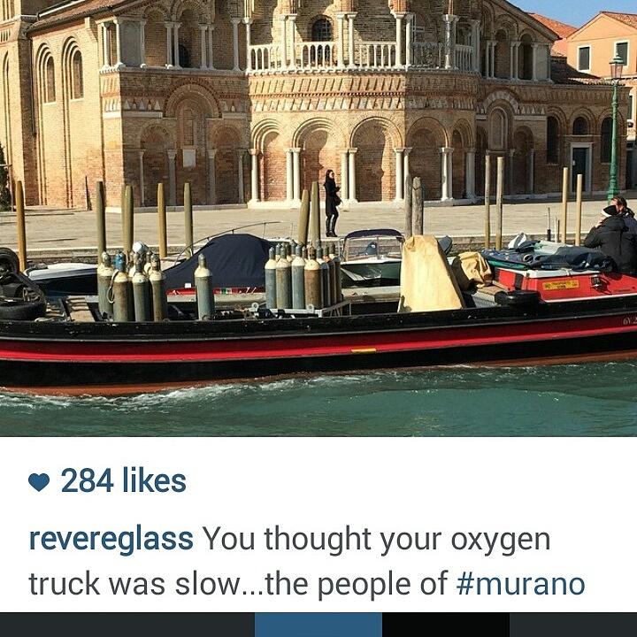 Oxygen Afloat in Venice