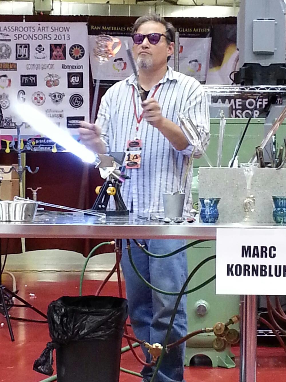 Marc demos @ Glassroots, Madison