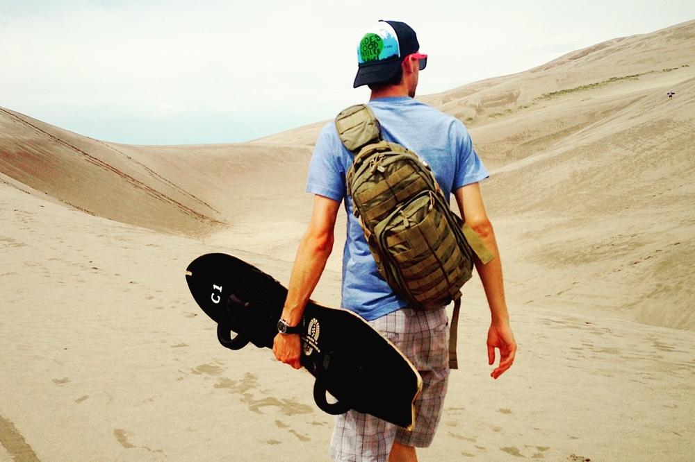 Sandboarding in CO