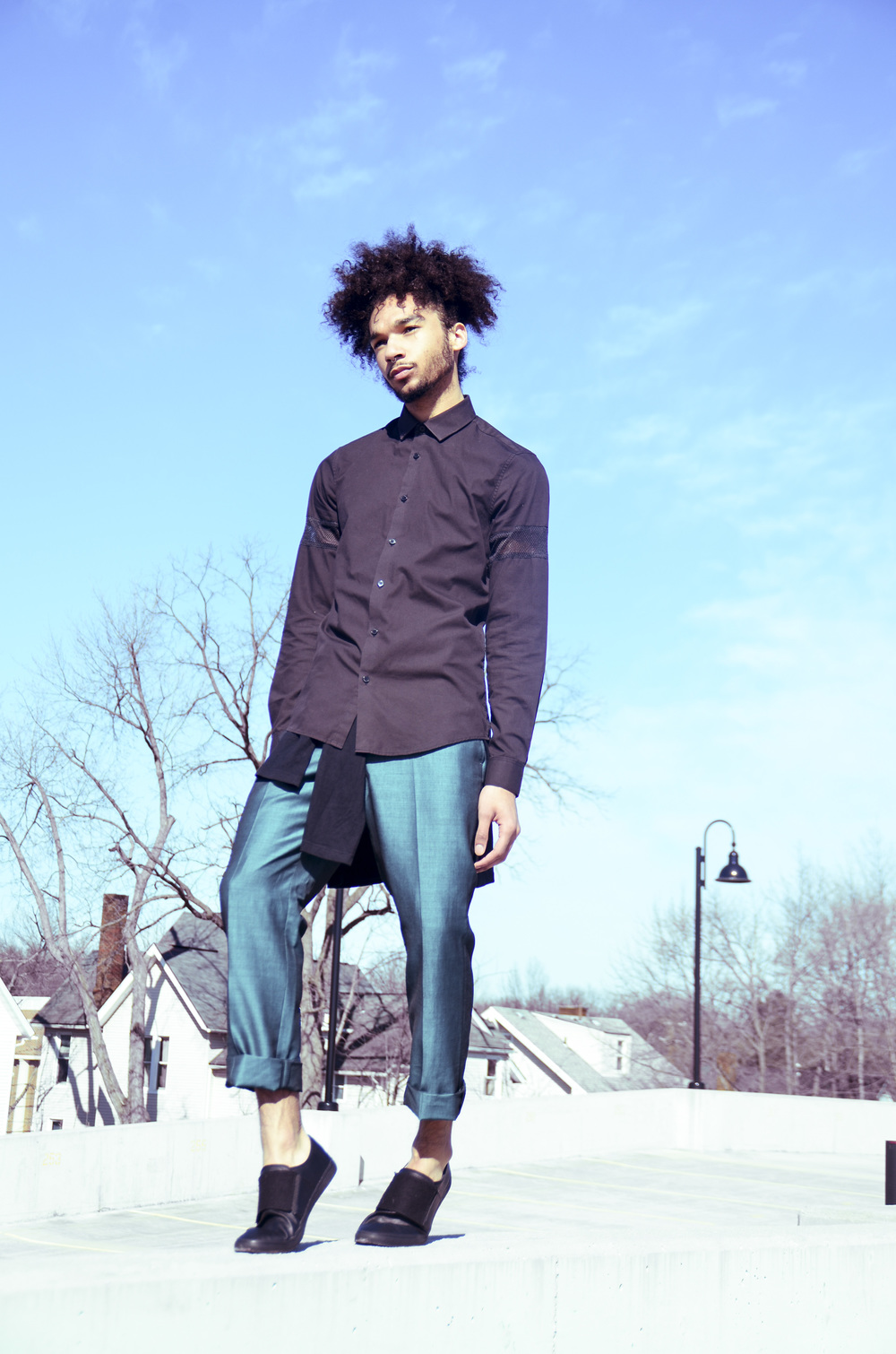 Shirt - ASOS (asos.com) | Pants - Lambretta (lambretta-fashion.com)