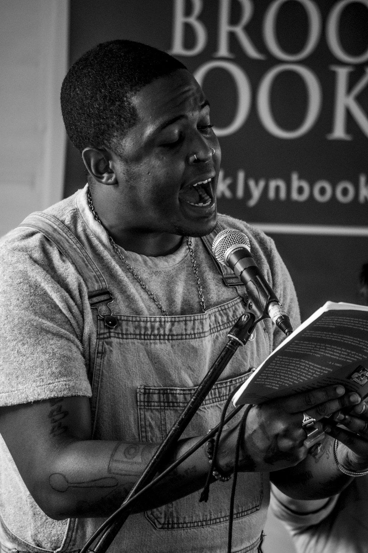 denez smith at brooklyn book festival (2017)