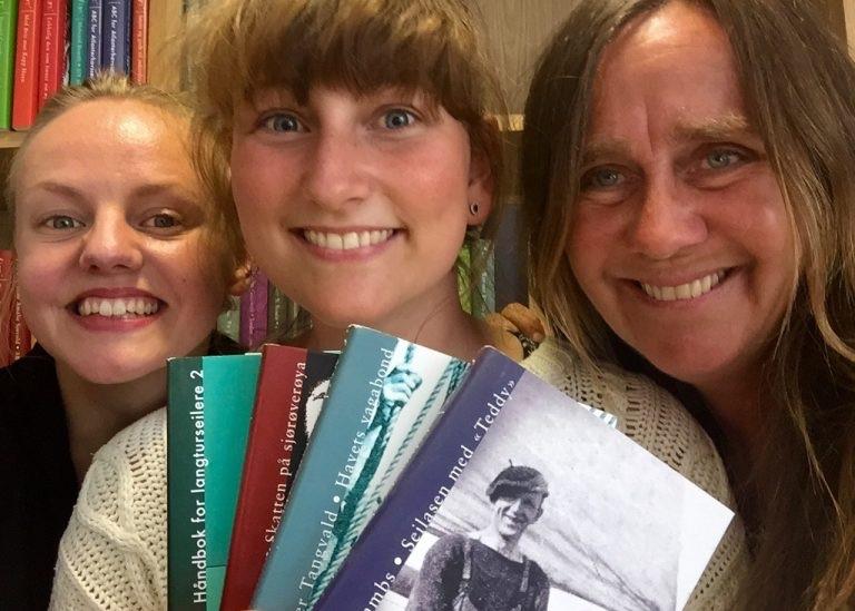 Hjertelig takk til Anne fra Flyt forlag for inspirasjon i biblioteket vårt