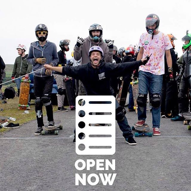 SIGN UP NOW OPEN #TREGZ2017 Head over to our website and follow the links www.briannecollective.com #ukdh #thrillmag #slideperfect #vandemmfg #aoblongboards #briannecollective #longboard #longboarduk #longboarding #skateboard #wales #tregaron