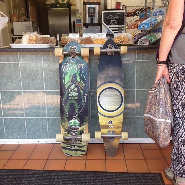Make your lunch break a skate with @aob_longboards @gravityhouseuk