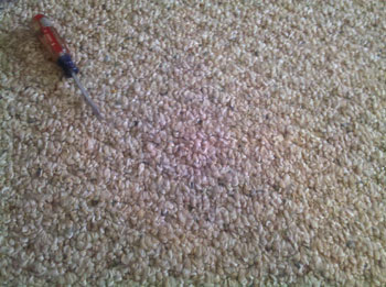 After:  ACS carpet snag repair