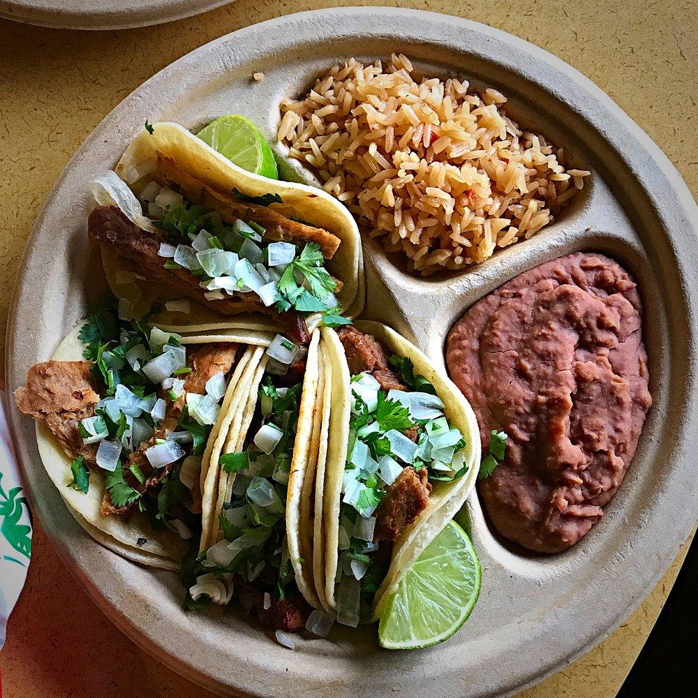 Vegan Tacos - El Palote Panaderia