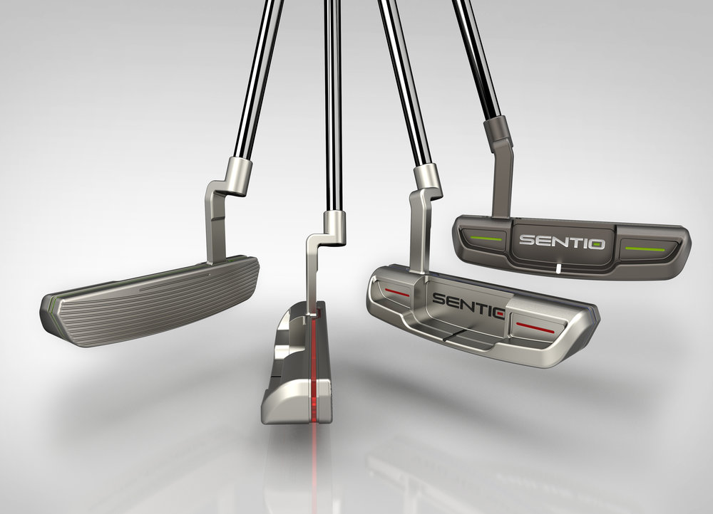 Sierra 101 and Century Edition putters will be on display and ready to order.