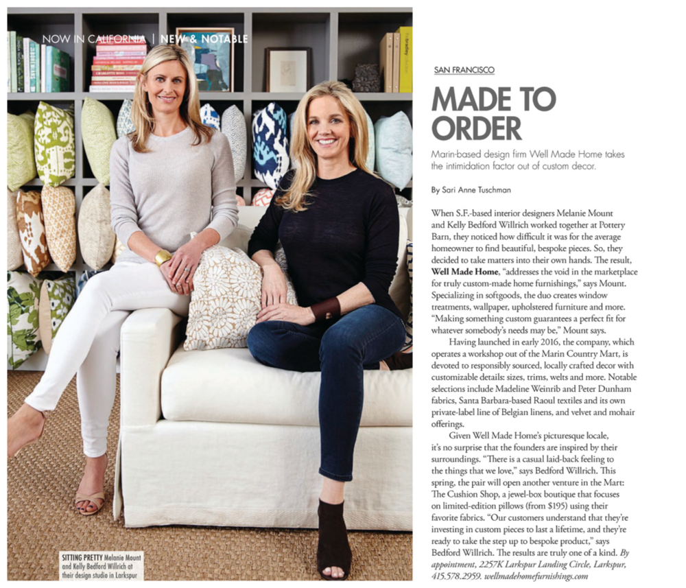 Melanie Mount & Kelly Willrich Modern Luxury