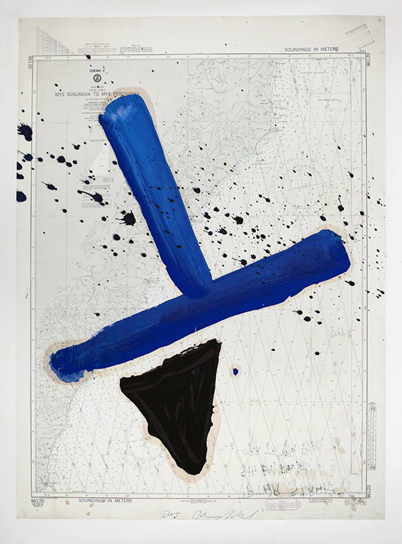 Julian Schnabel, Mys Sosunova to Mys Peschanyy