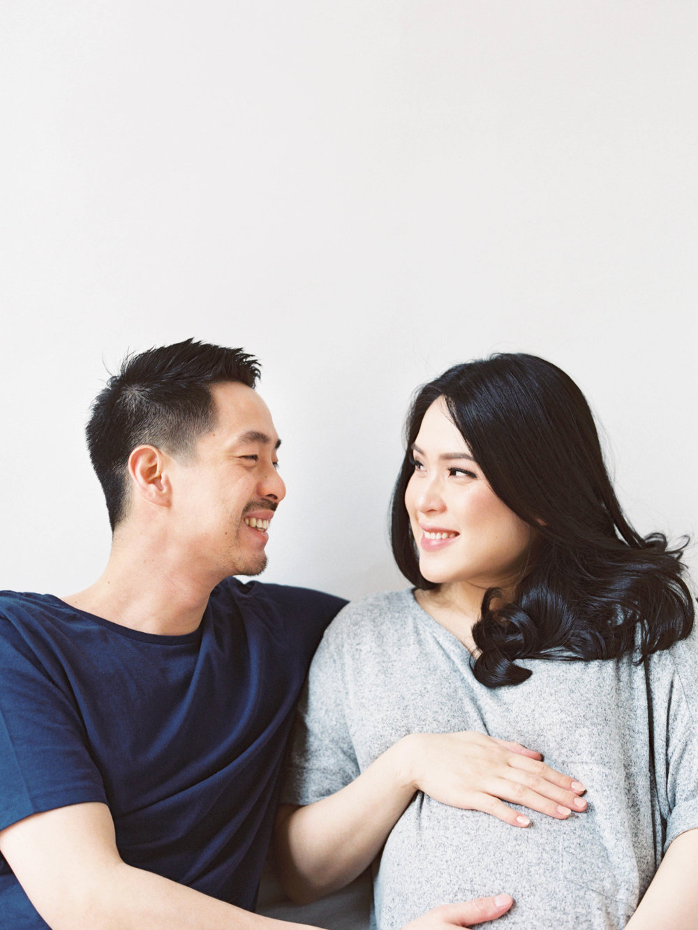 Gaby and Tim-Relaxed-Airy-Simple-Maternity Portrait Photoshoot-At Home-Jakarta-Studio June-Film Photography & Styling-6.jpg