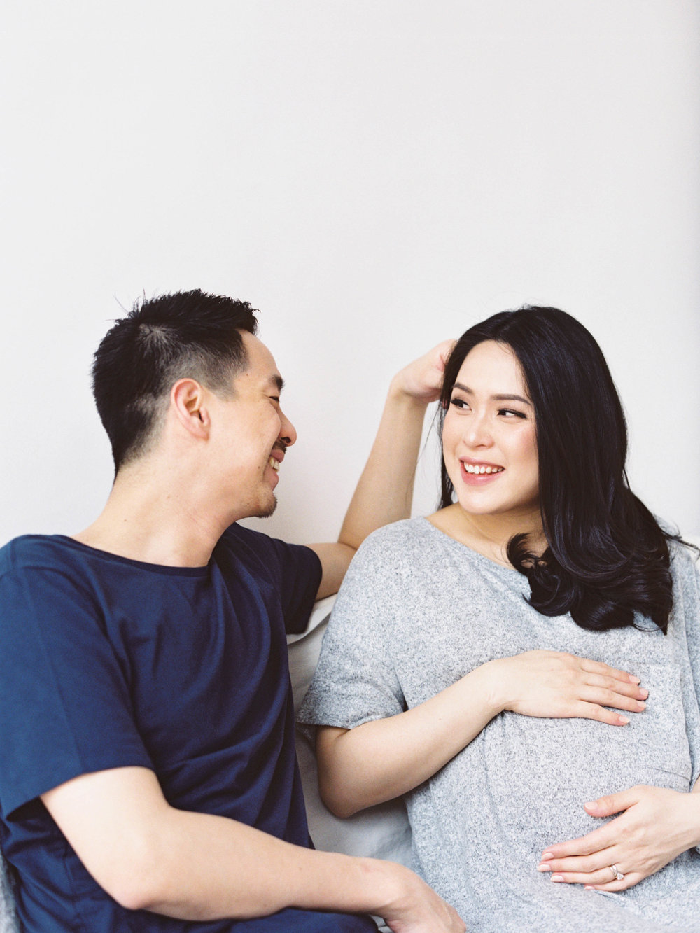 Gaby and Tim-Relaxed-Airy-Simple-Maternity Portrait Photoshoot-At Home-Jakarta-Studio June-Film Photography & Styling-9.jpg