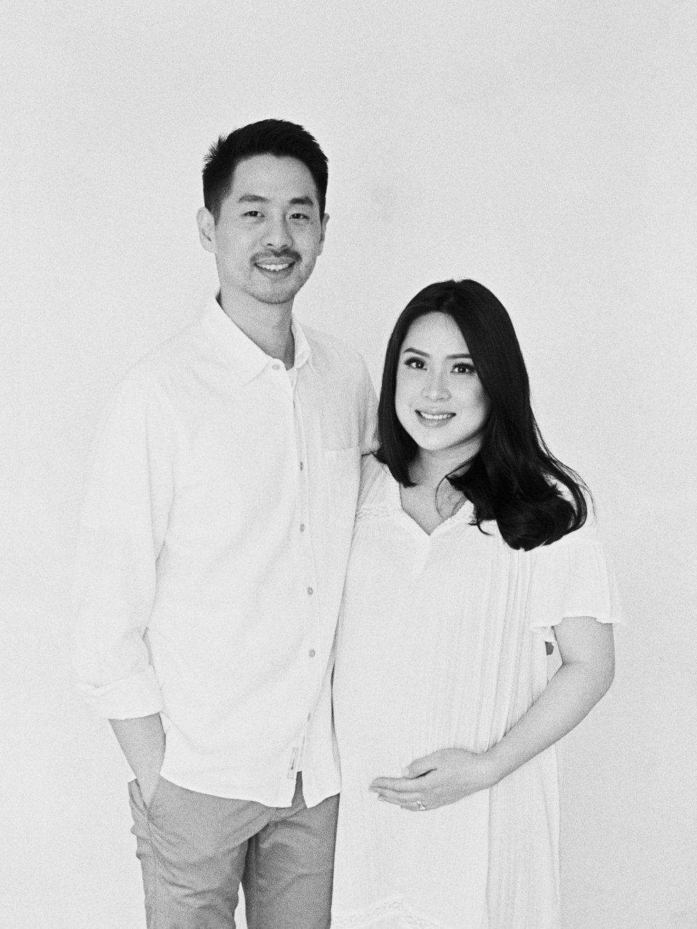 Gaby and Tim-Relaxed-Airy-Simple-Maternity Portrait Photoshoot-At Home-Jakarta-Studio June-Film Photography & Styling-30.jpg