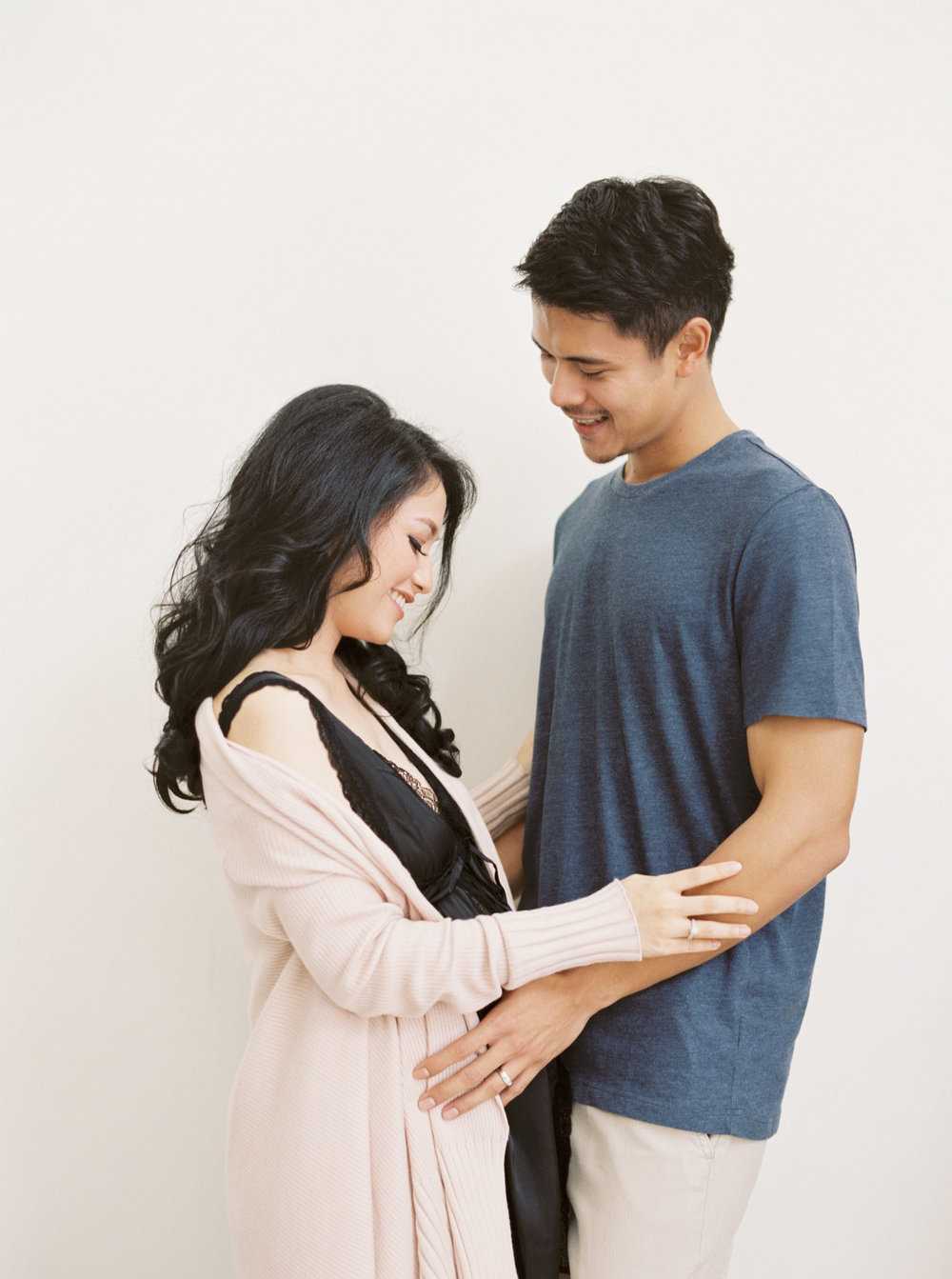 Romantic Elegant Couple Maternity Portrait - Studio June - Film Photography & Styling - Jakarta-13.jpg