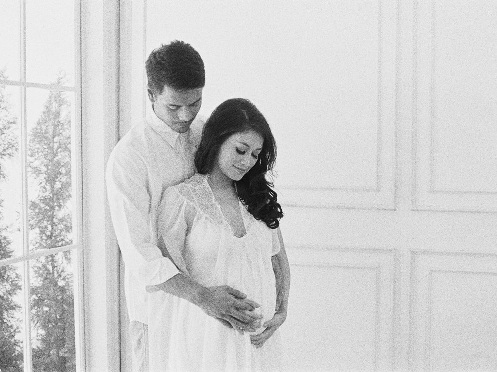 Romantic Elegant Couple Maternity Portrait - Studio June - Film Photography & Styling - Jakarta-37.jpg