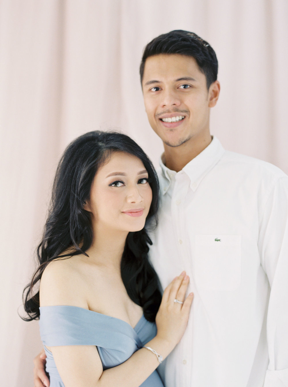 Romantic Elegant Couple Maternity Portrait - Studio June - Film Photography & Styling - Jakarta-45.jpg