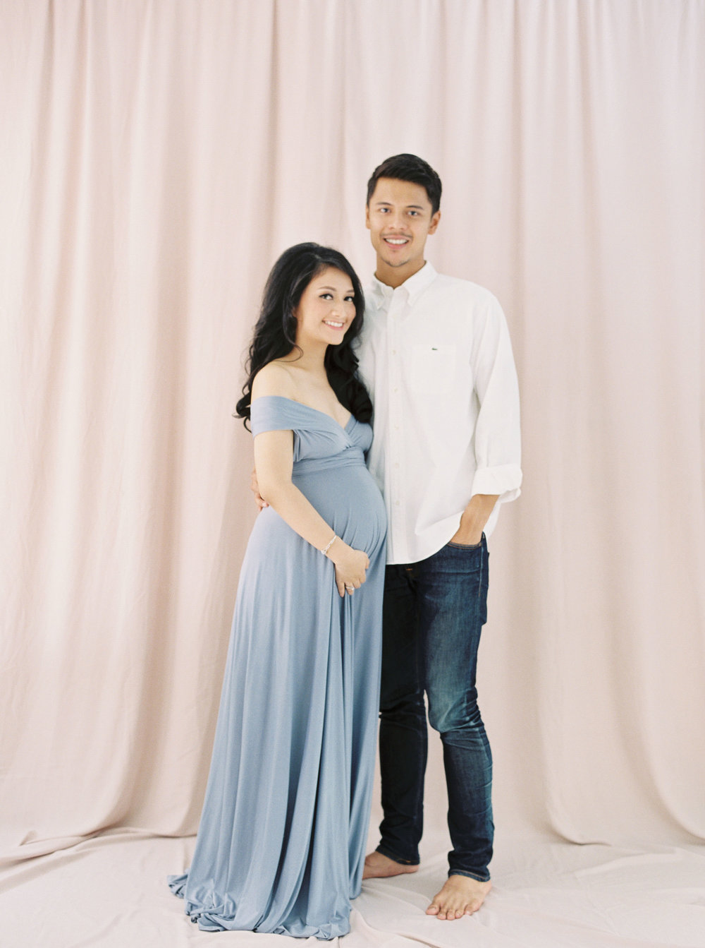 Romantic Elegant Couple Maternity Portrait - Studio June - Film Photography & Styling - Jakarta-44.jpg