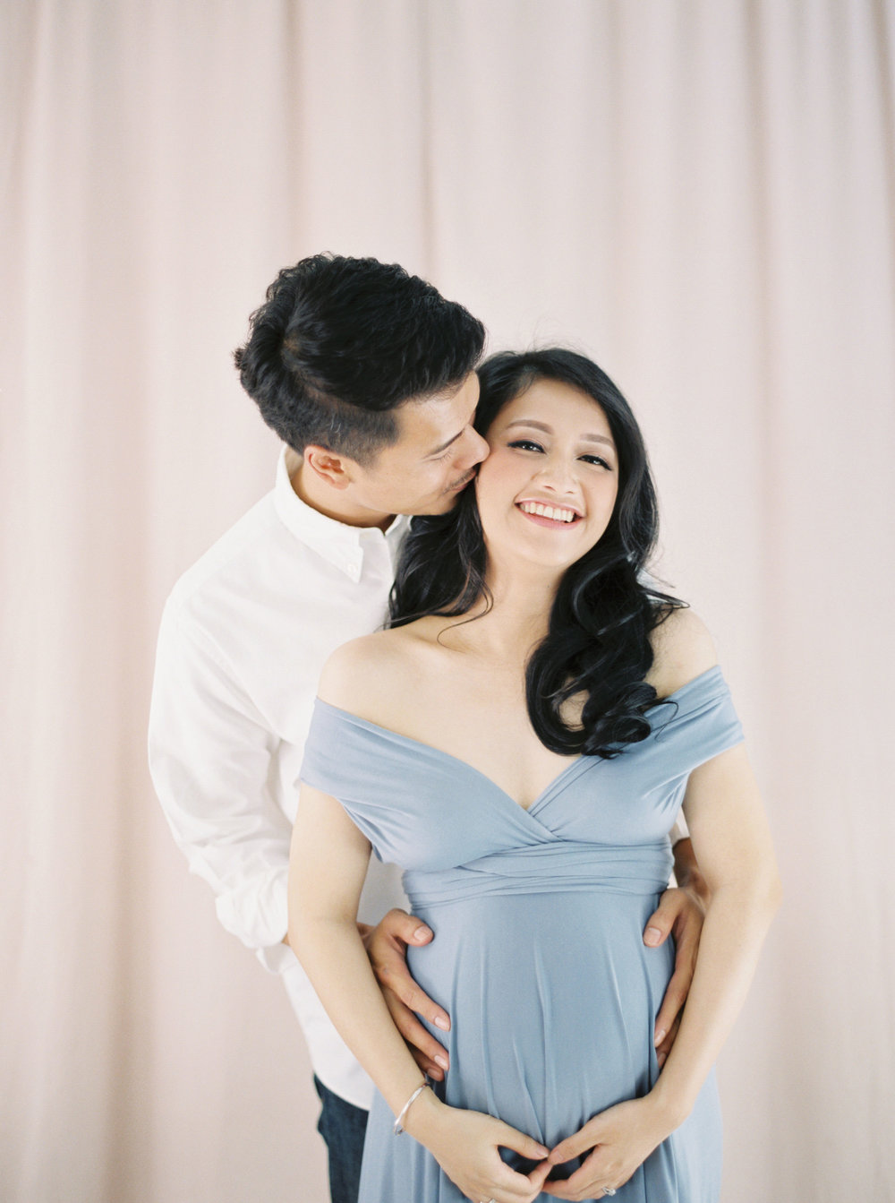 Romantic Elegant Couple Maternity Portrait - Studio June - Film Photography & Styling - Jakarta-50.jpg