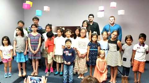 Satoko's private studio in Houston included students from 4 to 65 years old.
