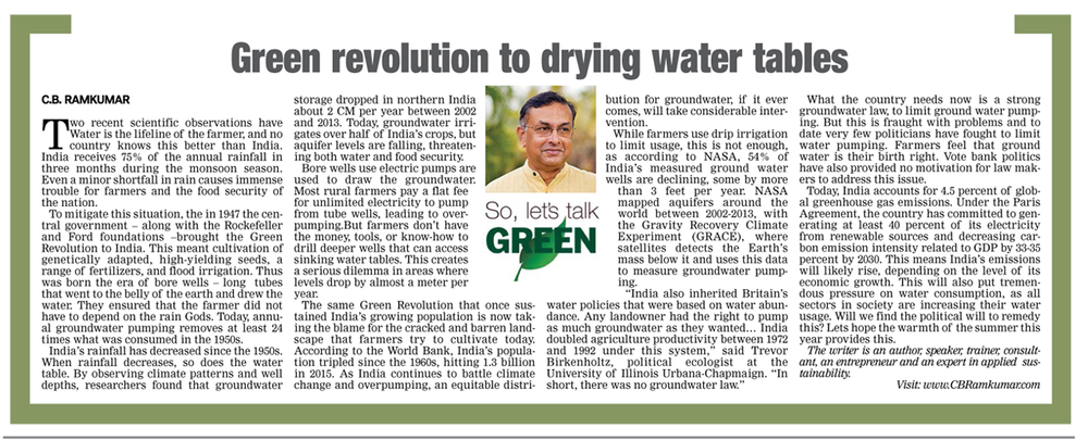 Deccan Chronicle 25 April 2017