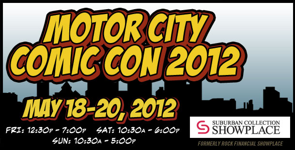 Motor City Comic Con 2012