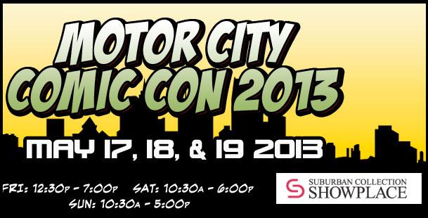 2013 Motor City Comic Con