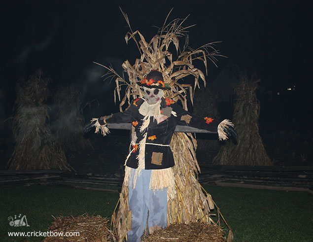 Greenfield Village Halloween Scarecrow