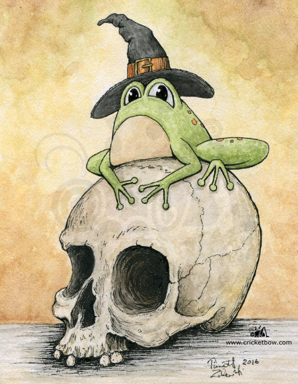 The Witch's Frog