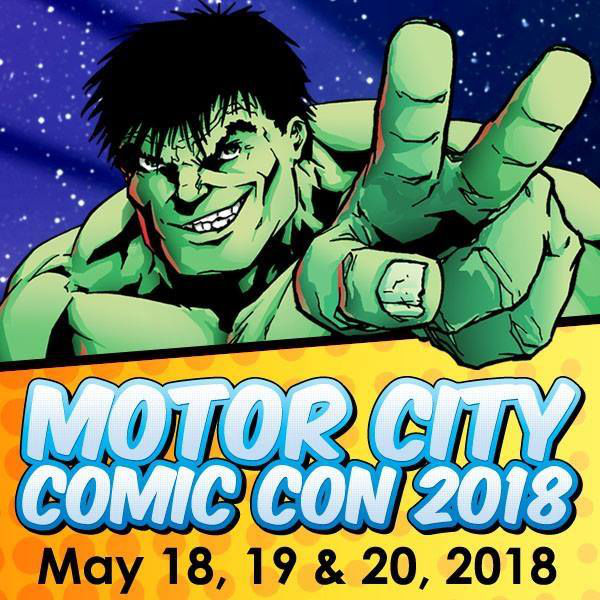 Motor City Comic Con 2018