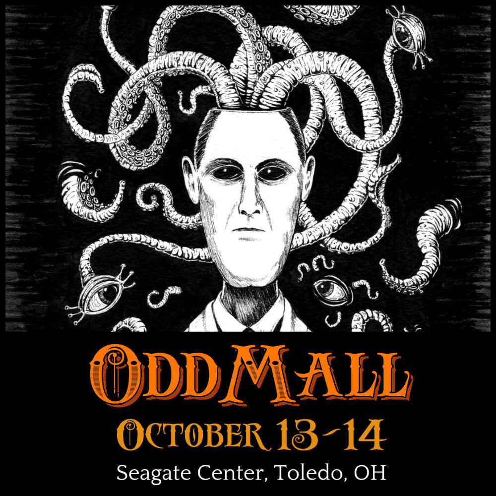 OddMall, October 13-14 2018 at Seagate Center, Toledo, OH