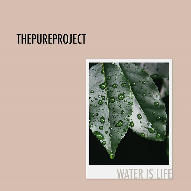 WATER IS LIFE. This holiday season give the gift of clean water to families in need. 💧 💧 💧 #tshirt #longsleeve #booster #charity #nonprofit #giveback #givingtuesday #cleanwater #water #pink #green #merch #pure #store #cotton #christmas #drink #leaves #supreme #style #waterislife #life #nature #polaroid #holidays #holidayseason