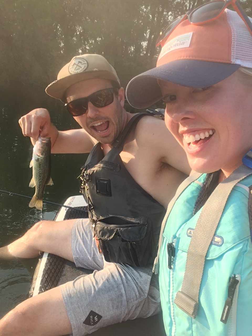 "Date nights were soon modified. Well…only slightly. What started off as a paddle-boarding date quickly became, ""Hey babe, can you troll us over to that tree line real quick? There's some bass over there by those logs."""