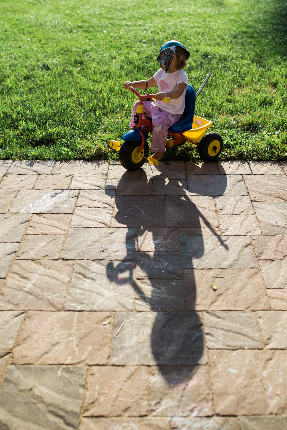 I just love these shadows. Morning sunlight can be fun too!