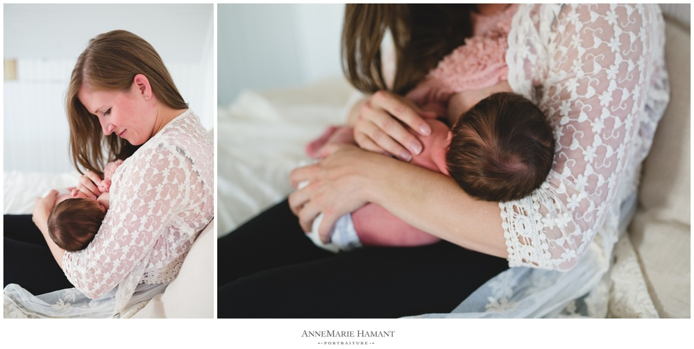 Lehigh Valley lifestyle newborn photographer