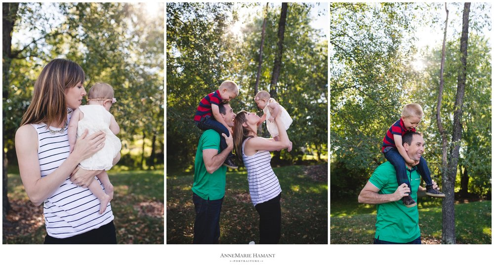 Center Valley Lehigh Valley PA Child and Family Photographer
