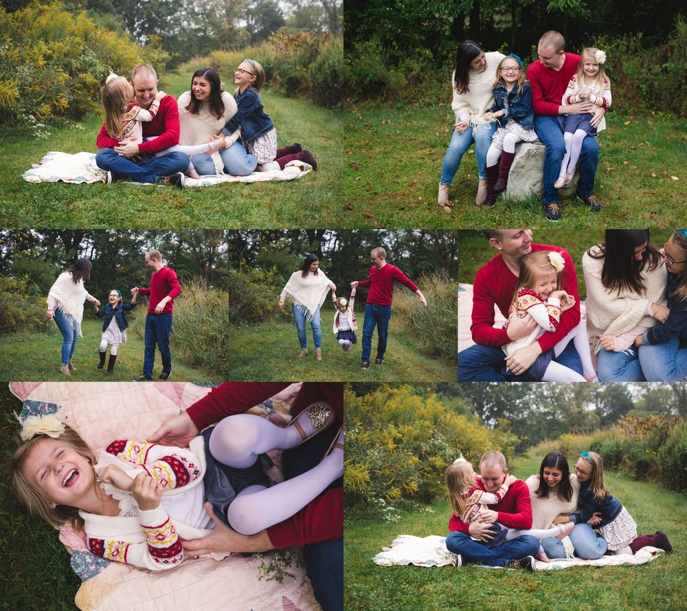Lehigh Valley Bucks County Philadelphia Family Photographer