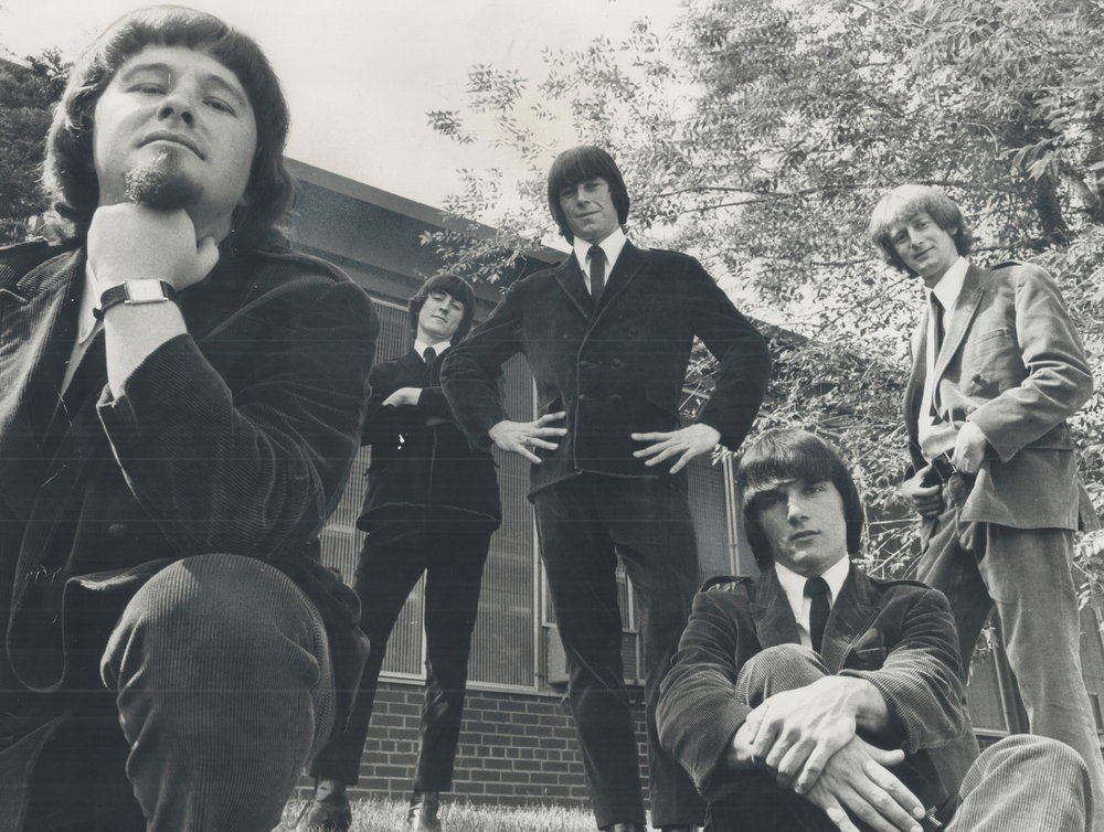 Bob Murphy, Donnie Morris, Grant Fullerton, Pinky Dauvin and John Yorke.