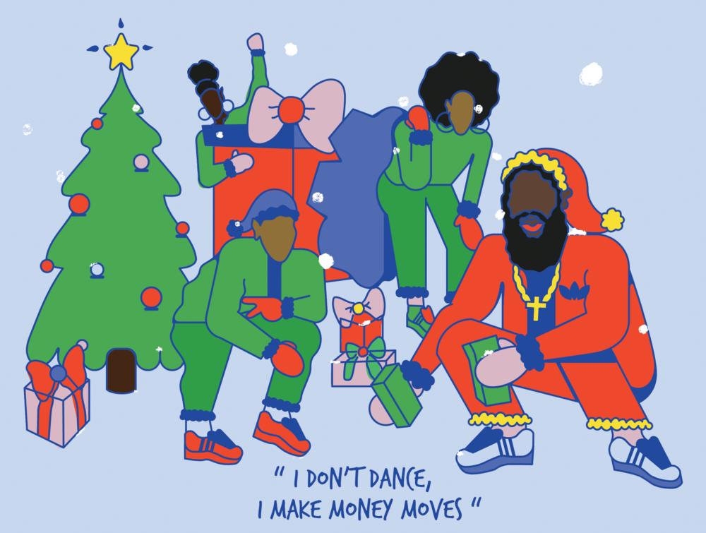 Trap Santa Series was created by two black women (Maureen Nicol and Funmi Ogunro)in Austin, Texas!