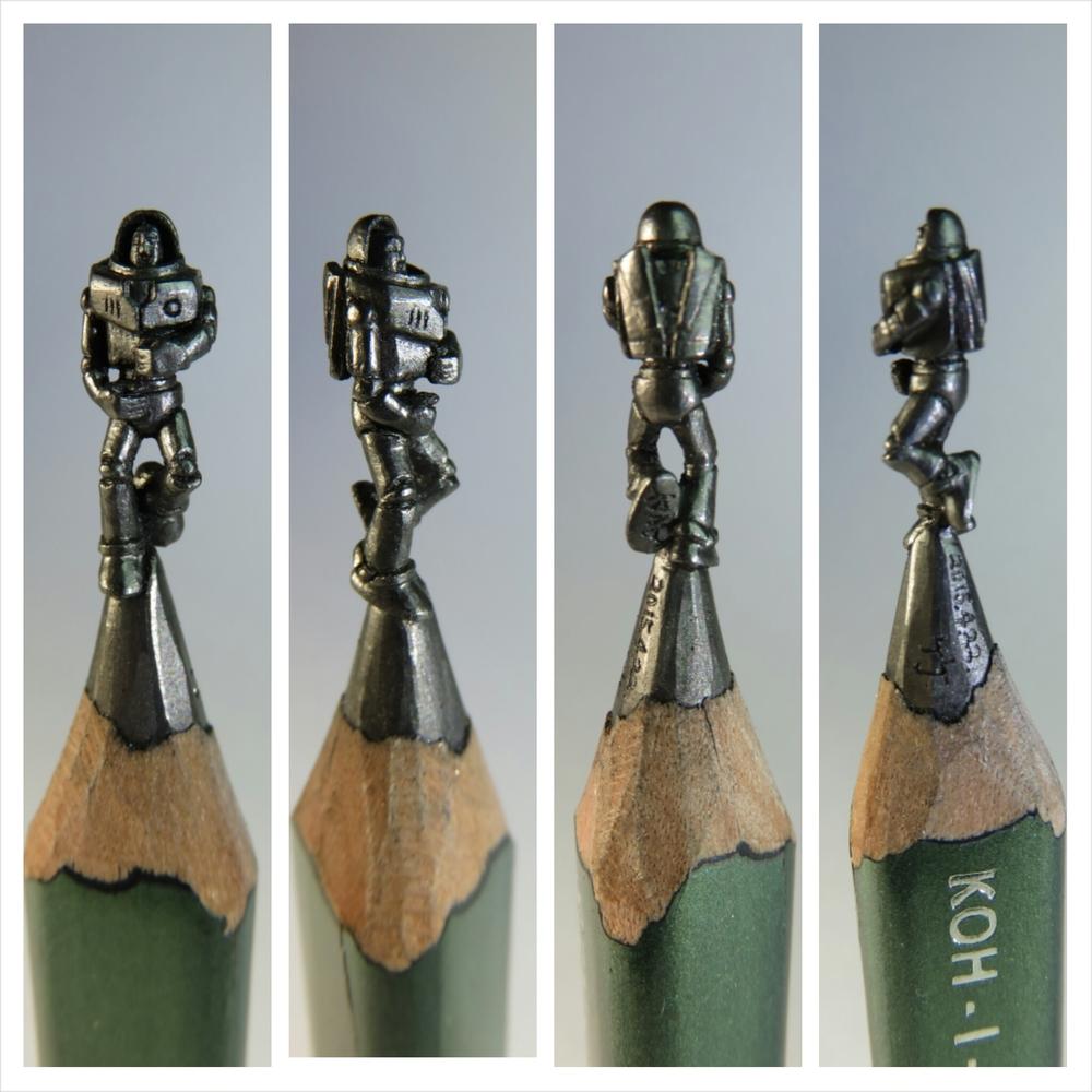 Pencil carving by taiwan artist lee chien chu u2014 the artbo