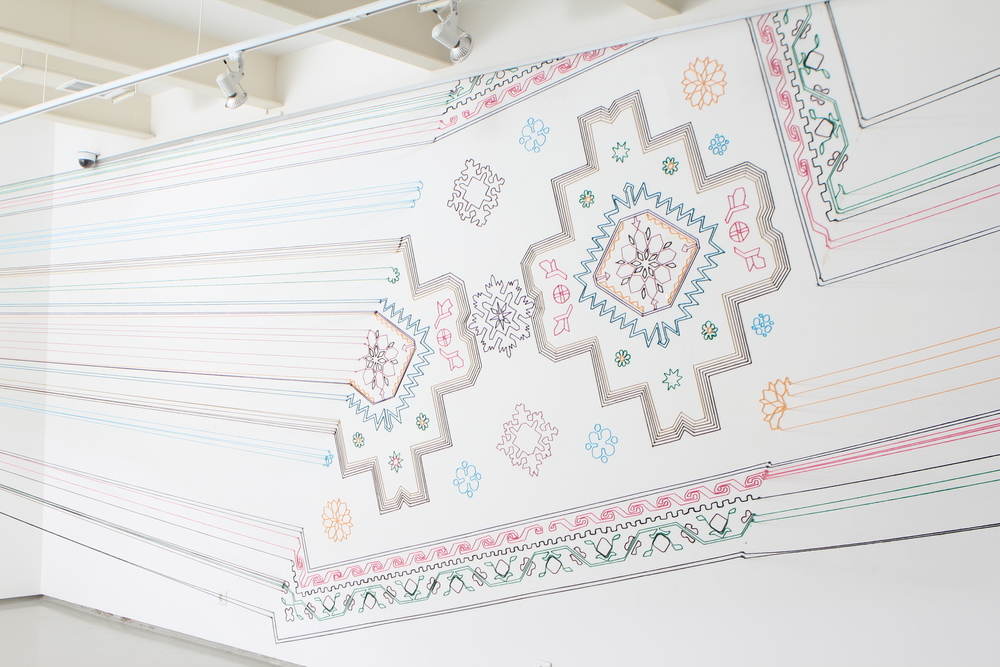 Embroidery Space, Faig Ahmed, 2012. Image Courtesy of Faig Ahmed Studio- 4,84 MB.JPG